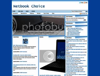 netbookchoice.com screenshot