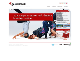 netbooking.compuweb.dk screenshot