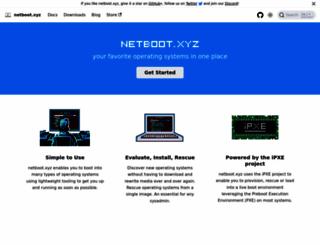 netboot.xyz screenshot
