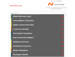 netbuilders.org screenshot