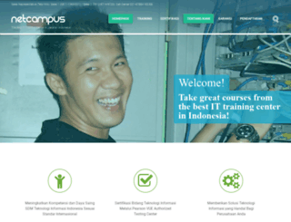 netcampus.co.id screenshot
