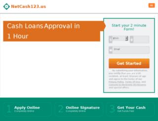 netcash123.us screenshot