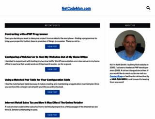 netcodeman.com screenshot