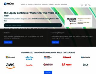 netcomlearning.com screenshot