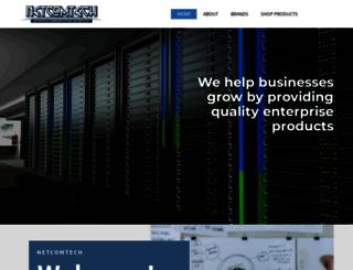 netcomtech.co.za screenshot