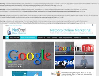 netcorp.co.nz screenshot