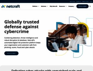 netcraft.com screenshot