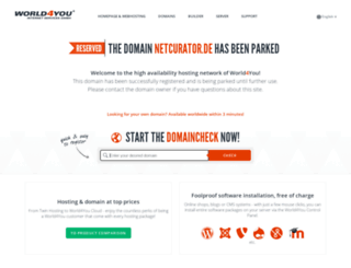 netcurator.de screenshot