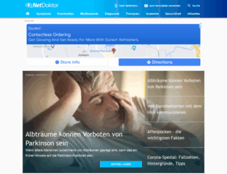 netdoktor.de screenshot