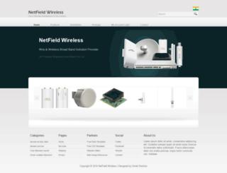 netfieldwireless.com screenshot