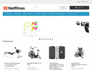netfitnes.com.br screenshot