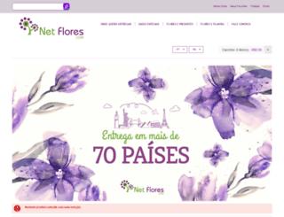netflores.com.br screenshot