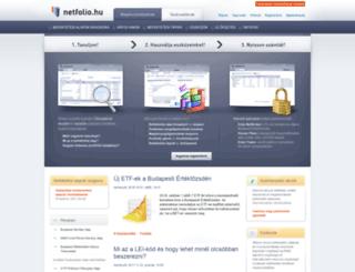 netfolio.hu screenshot