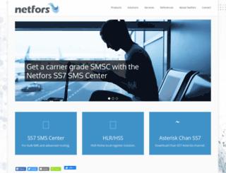 netfors.com screenshot