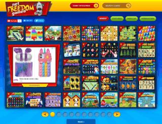 netfreedomgames.com screenshot