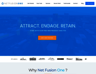 netfusionone.com screenshot