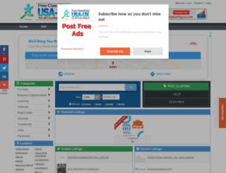 netherlands.usauk-classifieds.com screenshot