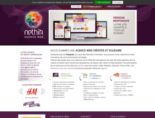 nethik.fr screenshot