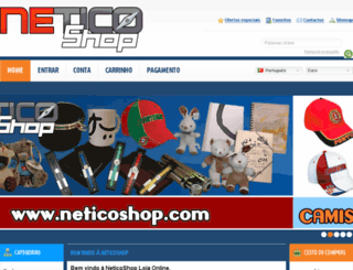 neticoshop.com screenshot