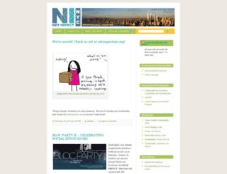 netimpactnewyork.wordpress.com screenshot
