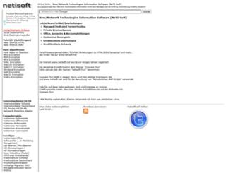 netisoft.net screenshot