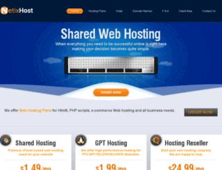 netixhost.com screenshot