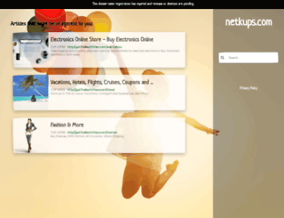 netkups.com screenshot