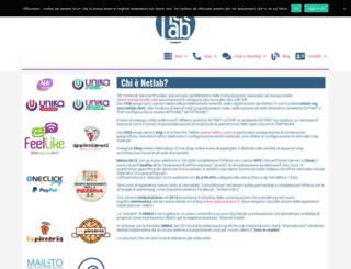 netlab.it screenshot