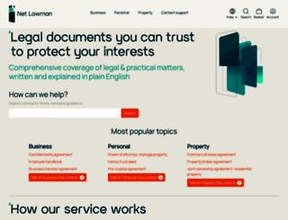 netlawman.co.in screenshot