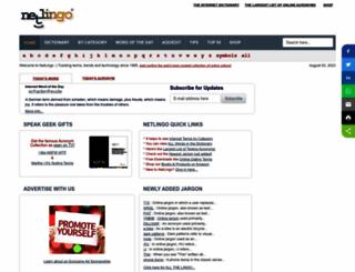 netlingo.com screenshot