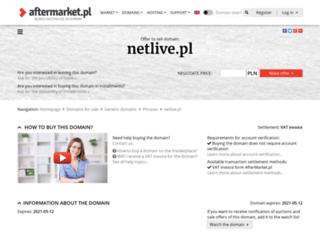 netlive.pl screenshot