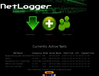 netlogger.org screenshot