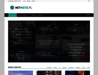 netmetis.pl screenshot