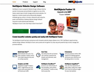 netobjects.com screenshot