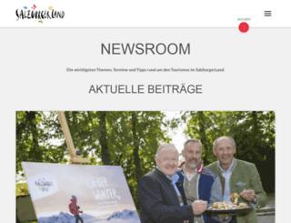 netoffice.salzburgerland.com screenshot