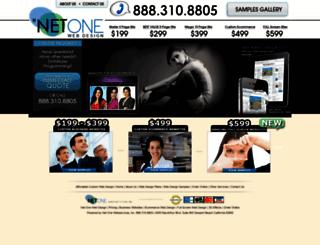 netonewebdesign.com screenshot