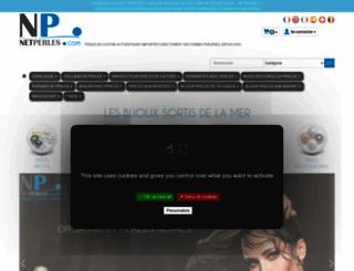 netperles.com screenshot