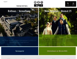 netphen.de screenshot
