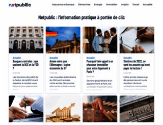 netpublic.fr screenshot