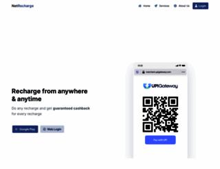 netrecharge.in screenshot