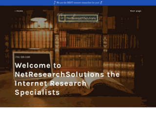 netresearchsolutions.com screenshot