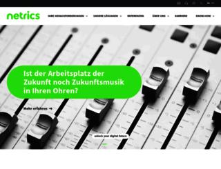 netrics.ch screenshot