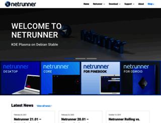 netrunner-os.com screenshot