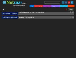 netsaar.com screenshot