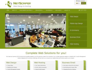 netscriper.co.uk screenshot