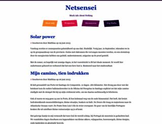 netsensei.nl screenshot