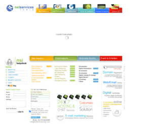 netservicesindia.com screenshot