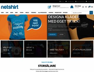 netshirt.se screenshot