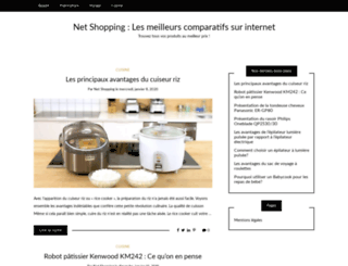 netshopping.fr screenshot