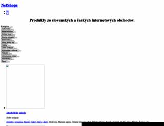 netshops.sk screenshot